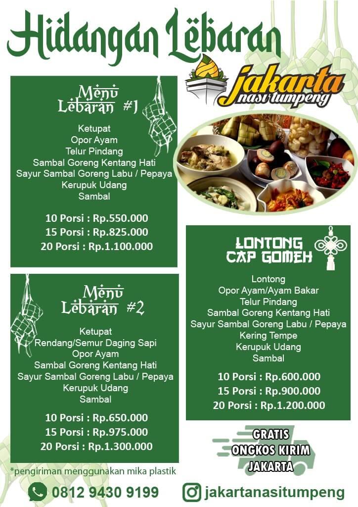 Catering Menu Lebaran di Jakarta Selatan