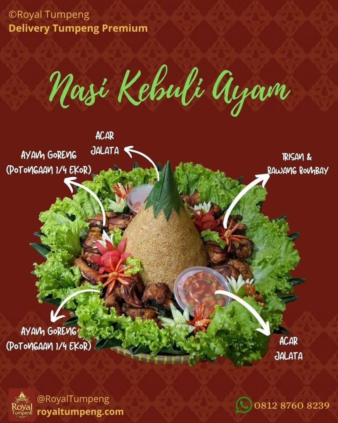 Pesan Nasi Tumpeng di Melawai